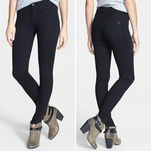 Rag & Bone Black Plush Jean Leggings 25x30.5